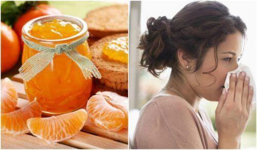 Wzmocnij odporność z dżemem mandarynkowym