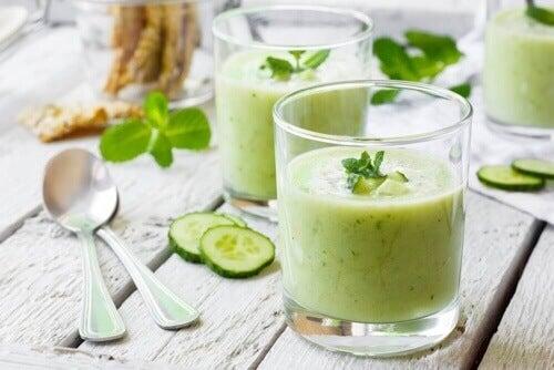 Koktajl z zielonego ogórka