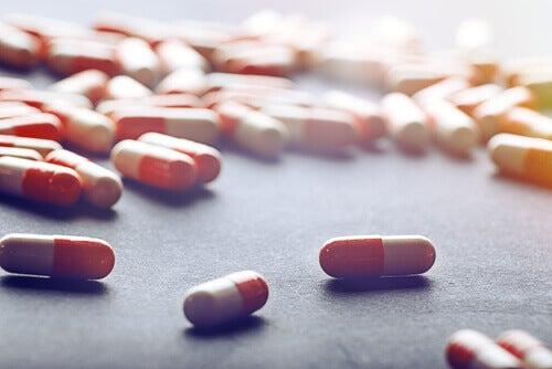 Rozrzucone tabletki