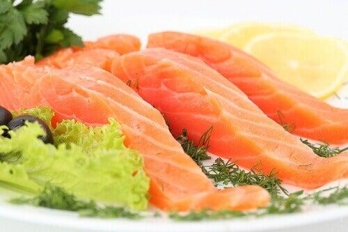 ryba losos jest zdrowy na grypa