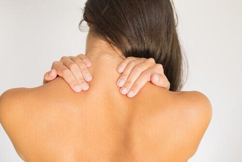 Masaż na ból szyi