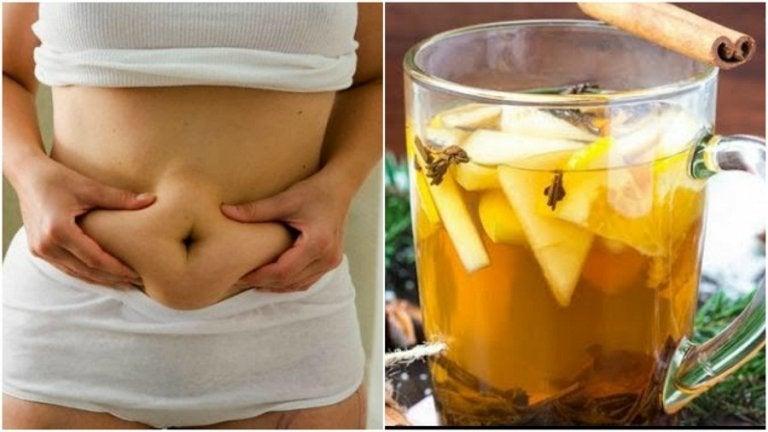 Odchudzanie z zieloną herbatą, ananasem i cynamonem