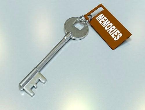 Klucz jako symbol pamięci