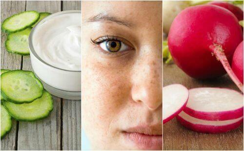 Plamy na twarzy – zredukuj je dzięki 5 specyfikom