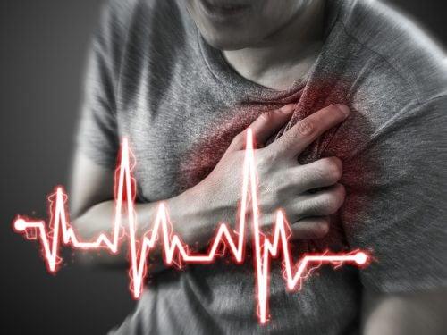 Zaburzona praca serca aEpigastralgia