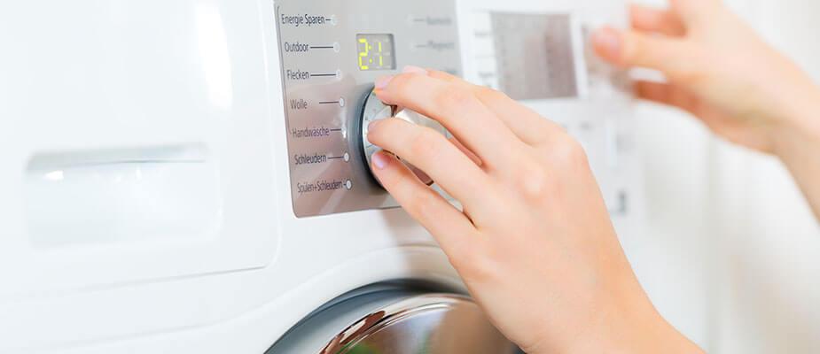 Nastawianie programu pralki