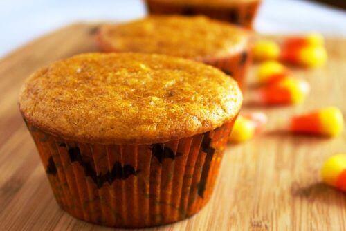 Przepisy z dyni - muffin dyniowy