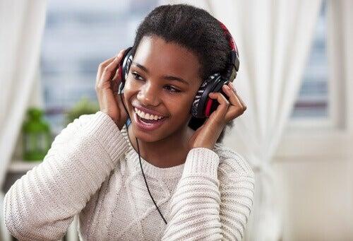 słuchanie muzyki na dobry poziom energii