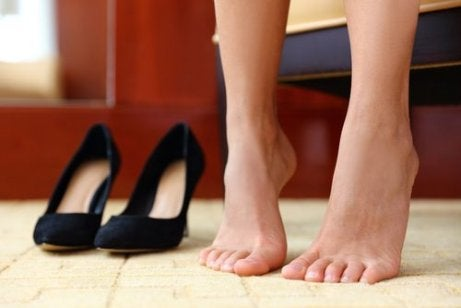 stanie na palcach a kondycja stopy