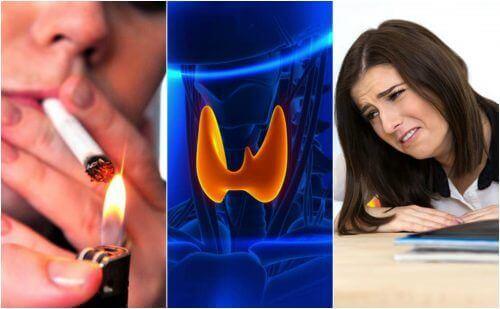 Tarczyca – 7 nawyków, które jej szkodzą