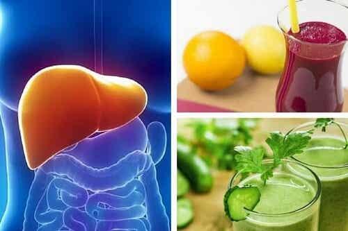 Wątroba - jak odżywić ją i oczyścić tymi trzema napojami