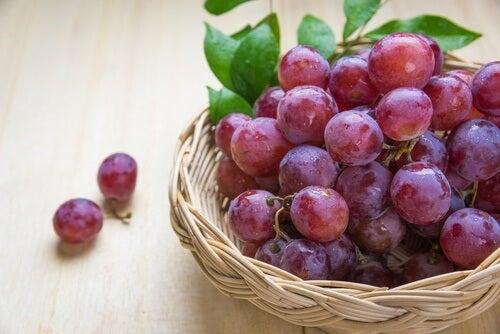 Winogrono zdrowe na lepszy sen