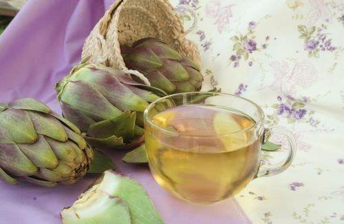 Napary diuretyczne z karczocha