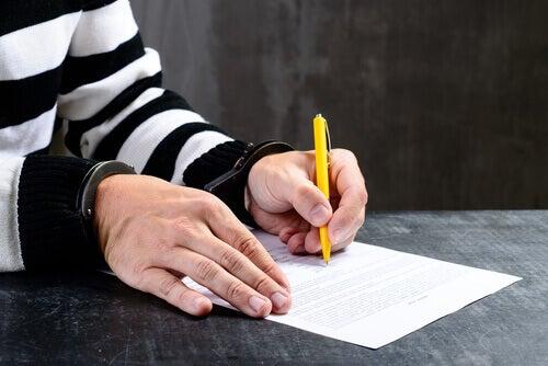 podpis męższczyzny