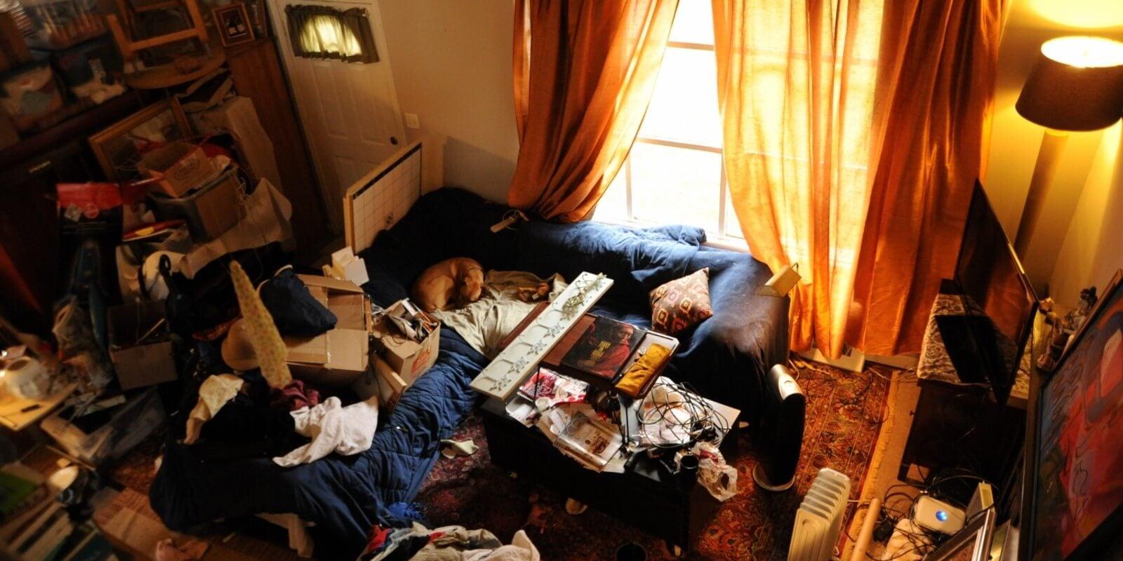 Bałagan w pokoju - lepiej mieć czysty dom