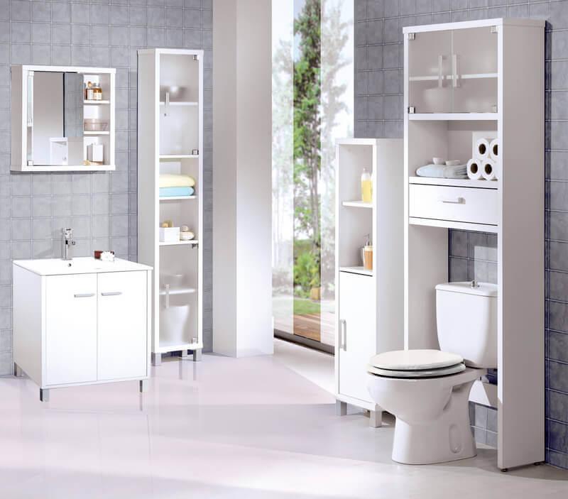 Czysta łazienka, toaleta wypróżnianie