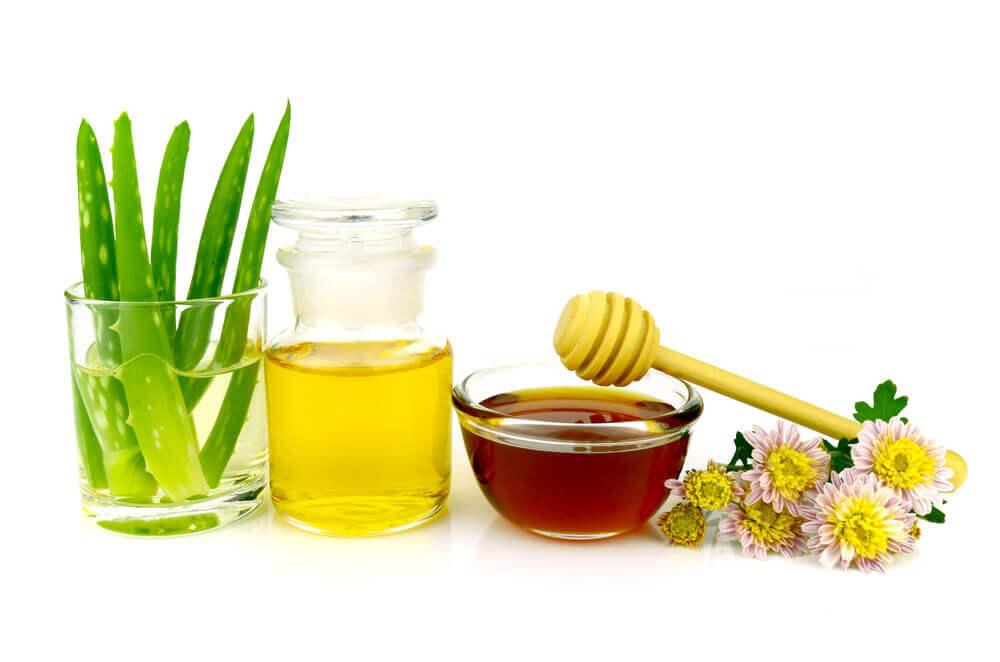 Naturalne produkty do demakijażu, aloes