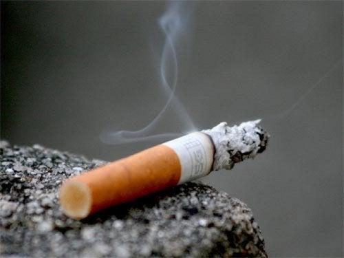Papieros palący się , jak rzucić palenie