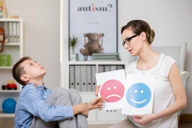 Rozmowa z psychologiem a Zespół Aspergera