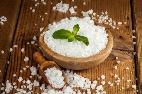 Sól z epsom na alergie