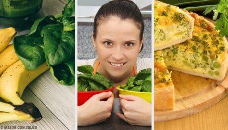 Szpinak każdego dnia – 5 smacznych przepisów