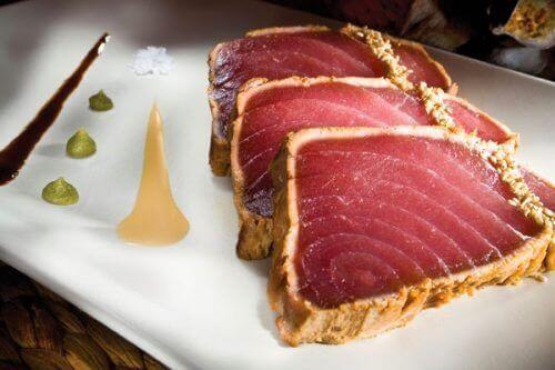 tuńczyk produkty z wysoką zawartością toksyn