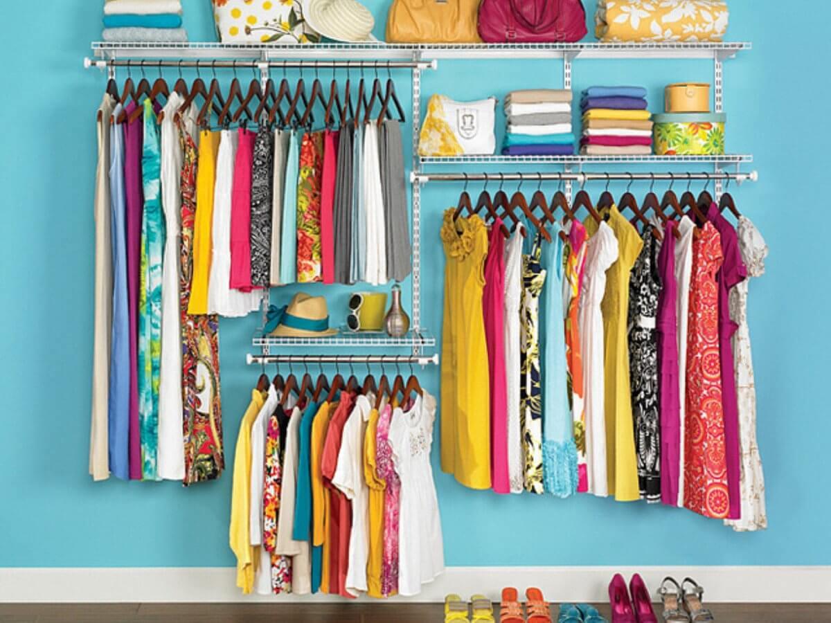Czysty dom to też uporządkowana garderoba