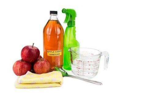 ocet jabłkowy na sprzątanie