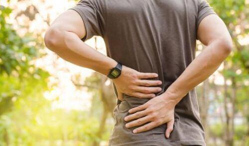 Ból pleców w dolnej części