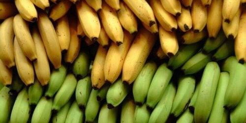 Banany i plantany – 3 różnice w wartości odżywczej
