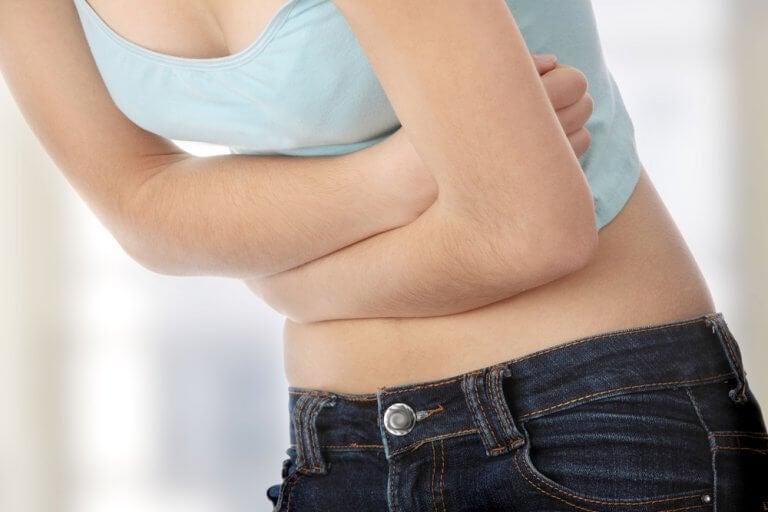 Ból brzucha wywołany infekcją pasożytniczą