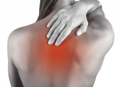 ból pleców a przykurcz mięśnia