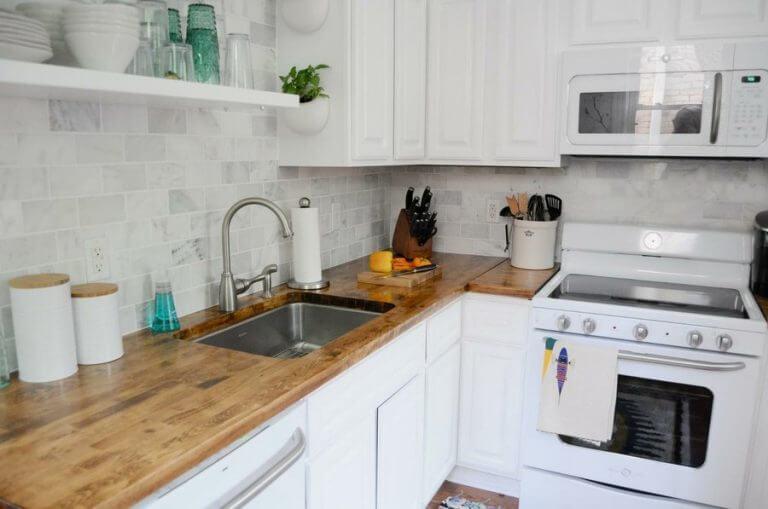 Czysta kuchnia Dom lśniący czystością