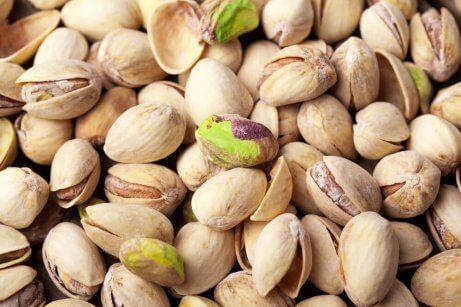 Garść pistacje