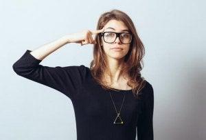 Inteligencja emocjonalna osobowość. Kobieta na baczność