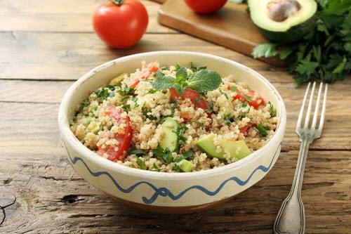 kolacja ryz z warzywami