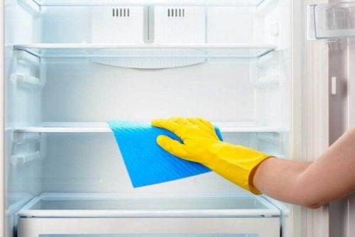 lodówka mycie Nieprzyjemny zapach w kuchni