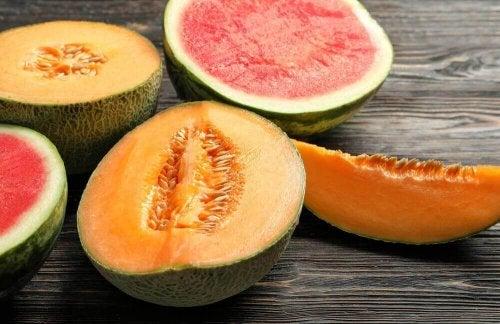 Melon i arbuz to świetne posiłki