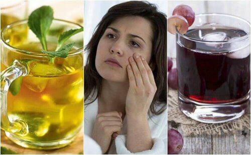 Zwalcz anemię tymi 5 naturalnymi napojami!
