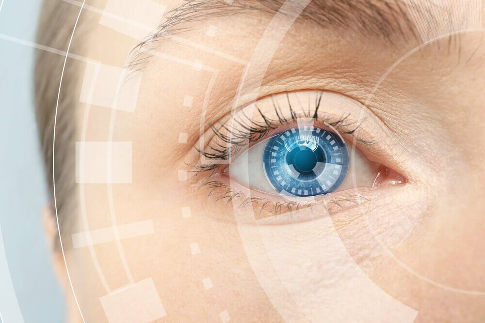 Oko - zdrowy wzrok należy do korzyści ze spożywania kolagenu