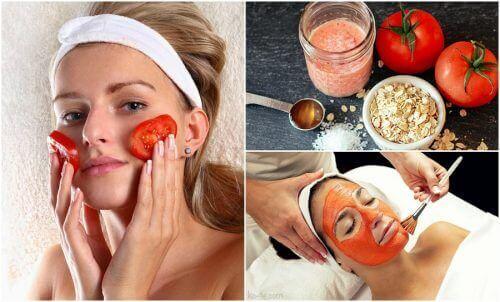 Pomidory – użyj ich na 5 sposobów, by zadbać o urodę