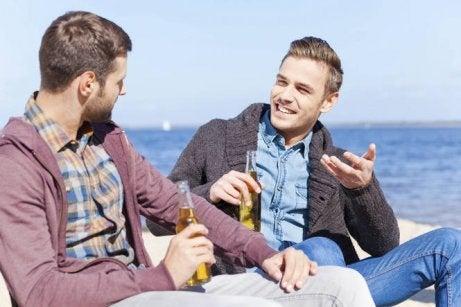 Rozmowa z kolegą wyklucza samotność