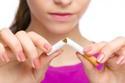 astma - rzucanie palenia