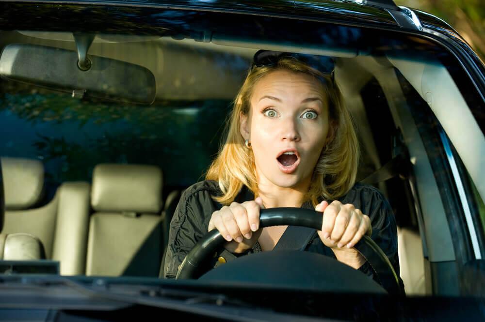 Strach za kierownicą