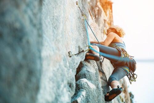 Wspinaczka a adrenalina