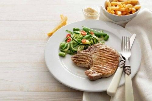 Zdrowe jedzenie odchudzanie nawyki żywieniowe