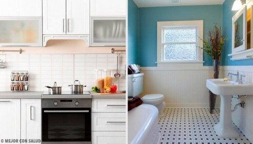 Ładny zapach w domu – jak zadbać o kuchnię i łazienkę