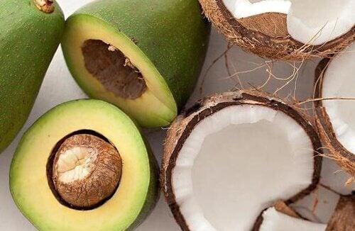 Awokado i kokos