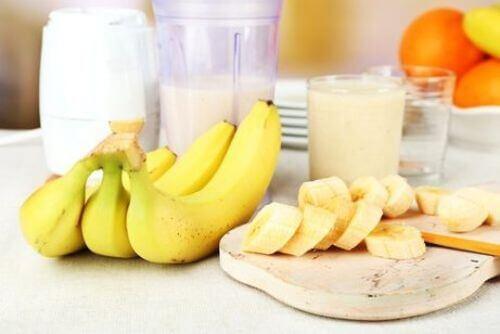 banany koktajl