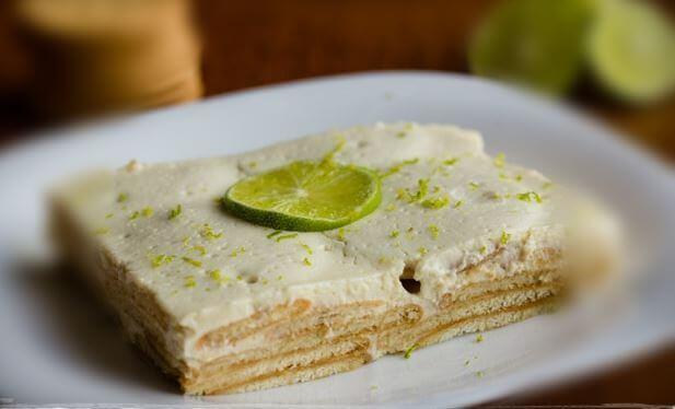 Ciasto cytrynowe charlotte cytrynowa